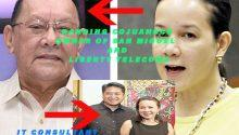 Grace Poe and Danding Cojuangco 1