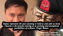 la-salle-prof-slams-fidel-ramos-for-criticizing-dutertes-climate-change-policy