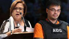 Espinosa confirms contributing 8m pesos to de Lima's senate bid