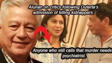 alunan defends duterte on kidnapper killing issue