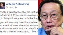 Why Joma Sison is not making peace with Duterte government