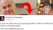 coup d'etat against Duterte