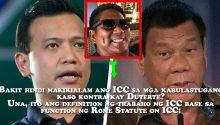 Ira Panganiban on why ICC is not interested in Duterte