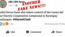 Another fake news from ABS-CBN