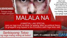 Alden Richards plays Martial law victim