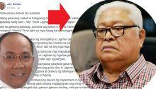 Edcel Lagman's lies exposed