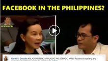 Grace Poe wants to ban Facebook in the Philippines