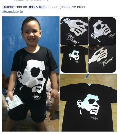 Kids for Duterte